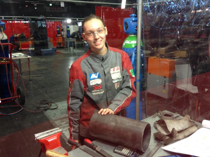 Austria Skills Salzburg, Metall-Auer, Oberösterreich, Pulverbeschichtung